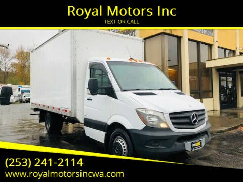 2014 Mercedes-Benz Sprinter Cab Chassis for sale at Royal Motors Inc in Kent WA