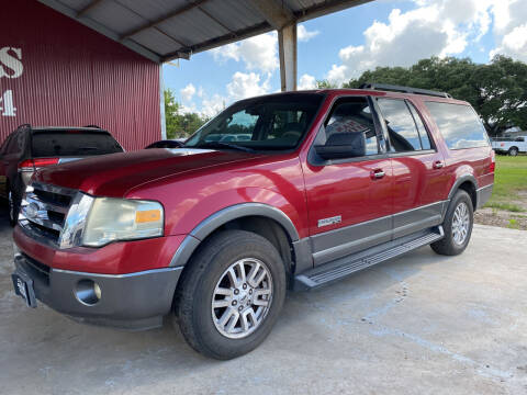 2007 Ford Expedition EL for sale at M & M Motors in Angleton TX