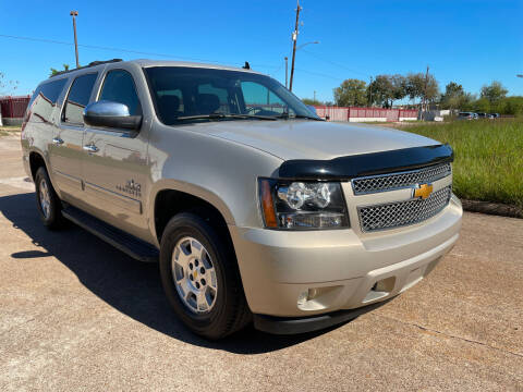 2012 Chevrolet Suburban for sale at TWIN CITY MOTORS in Houston TX