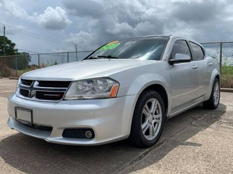 2012 Dodge Avenger for sale at Speedy Auto Sales in Pasadena TX