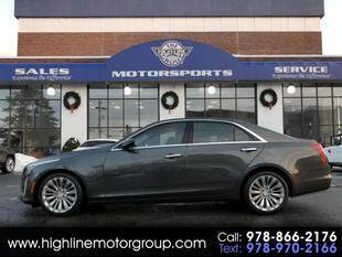 2017 Cadillac CTS for sale at Highline Group Motorsports in Lowell MA