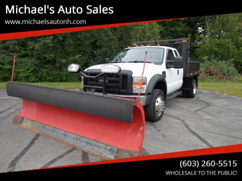 2008 Ford F-550 Super Duty for sale at Michael's Auto Sales in Derry NH