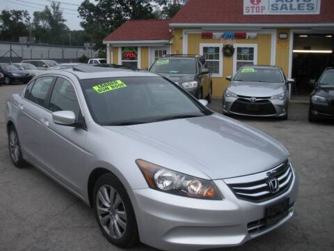 2012 Honda Accord for sale at One Stop Auto Sales in North Attleboro MA