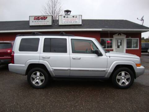 2010 Jeep Commander for sale at G and G AUTO SALES in Merrill WI