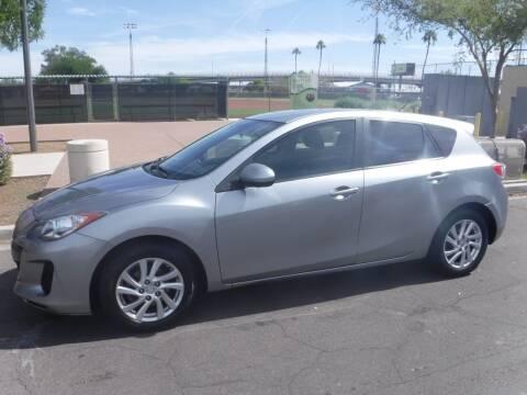 2012 Mazda MAZDA3 for sale at J & E Auto Sales in Phoenix AZ