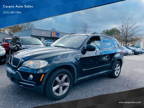 2008 BMW X5 for sale at Carpro Auto Sales in Chesapeake VA