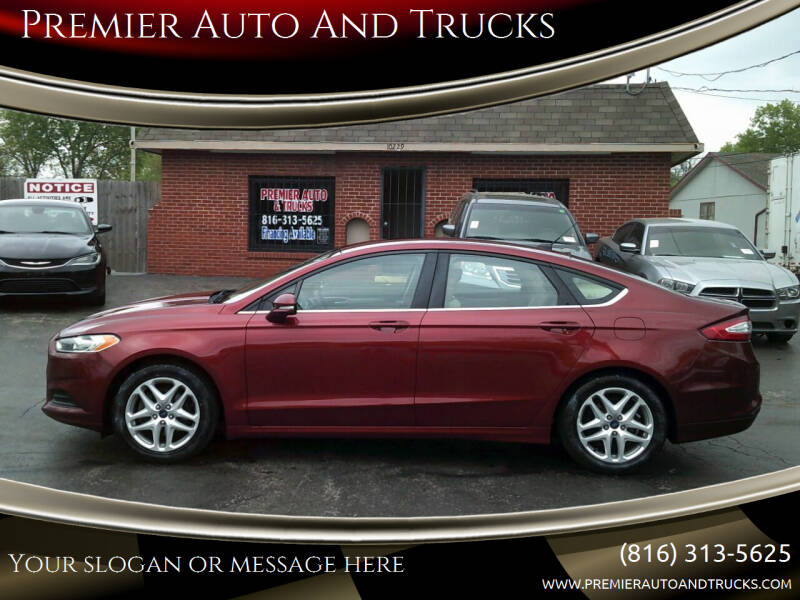 2014 Ford Fusion for sale at Premier Auto And Trucks in Independence MO