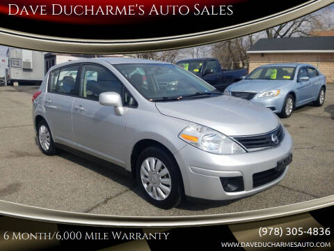 2011 Nissan Versa for sale at Dave Ducharme's Auto Sales in Lowell MA