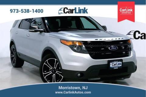 2013 Ford Explorer for sale at CarLink in Morristown NJ