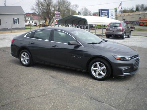 2017 Chevrolet Malibu for sale at Starrs Used Cars Inc in Barnesville OH