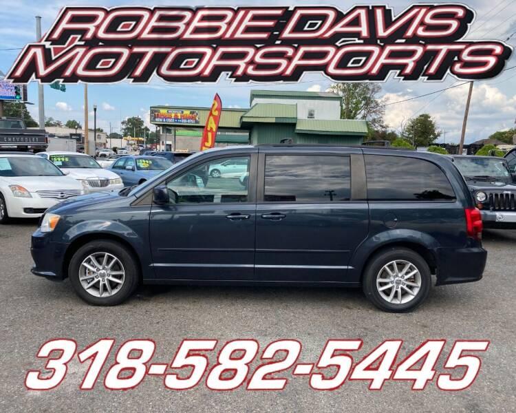 2014 Dodge Grand Caravan for sale at Robbie Davis Motorsports in Monroe LA
