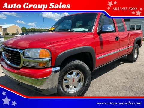 2001 GMC Sierra 1500 for sale at Auto Group Sales in Roscoe IL