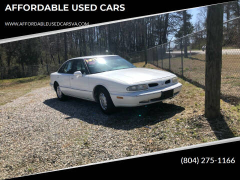 1999 Oldsmobile Eighty-Eight for sale at AFFORDABLE USED CARS in Richmond VA