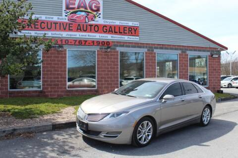 2016 Lincoln MKZ for sale at EXECUTIVE AUTO GALLERY INC in Walnutport PA