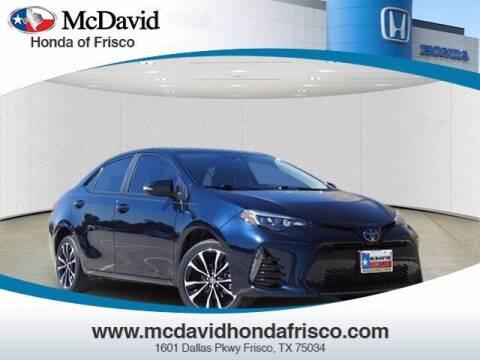 2019 Toyota Corolla for sale at DAVID McDAVID HONDA OF IRVING in Irving TX