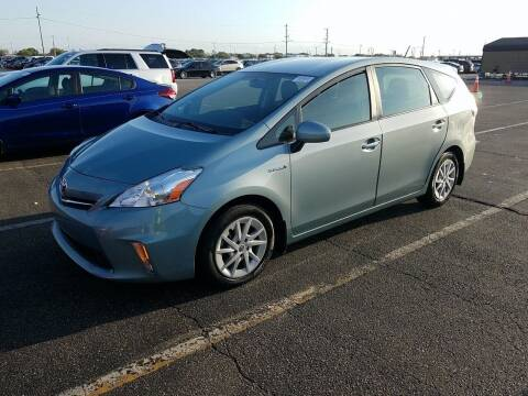 2014 Toyota Prius v for sale at Riverside Auto Sales & Service in Portland ME