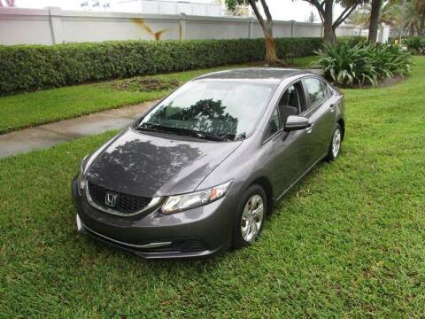 2014 Honda Civic for sale at Roadmaster Auto Sales in Pompano Beach FL