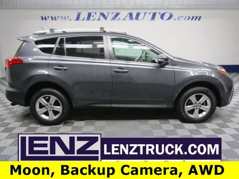 2015 Toyota RAV4 for sale at LENZ TRUCK CENTER in Fond Du Lac WI