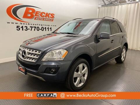 2011 Mercedes-Benz M-Class for sale at Becks Auto Group in Mason OH