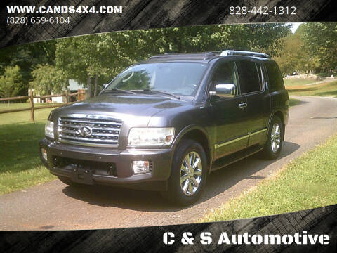 2010 Infiniti QX56 for sale at C & S Automotive in Nebo NC