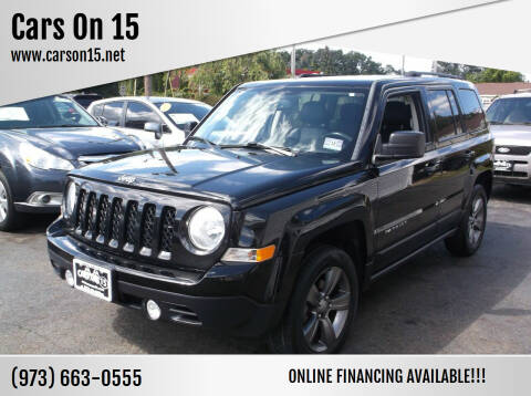 2015 Jeep Patriot for sale at Cars On 15 in Lake Hopatcong NJ
