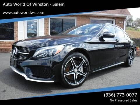 2016 Mercedes-Benz C-Class for sale at Auto World Of Winston - Salem in Winston Salem NC