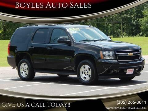 2013 Chevrolet Tahoe for sale at Boyles Auto Sales in Jasper AL