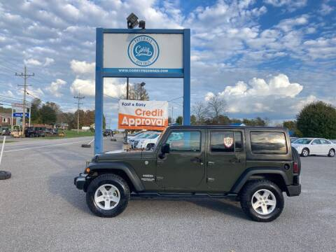 2016 Jeep Wrangler Unlimited for sale at Corry Pre Owned Auto Sales in Corry PA