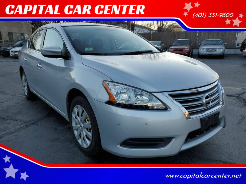2014 Nissan Sentra for sale at CAPITAL CAR CENTER in Providence RI