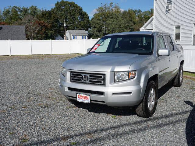 2008 Honda Ridgeline for sale at Colonial Motors in Mine Hill NJ