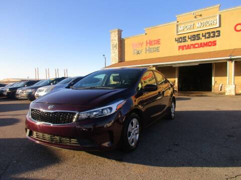 2017 Kia Forte for sale at Import Motors in Bethany OK