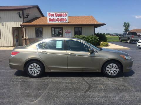 2010 Honda Accord for sale at Pro Source Auto Sales in Otterbein IN