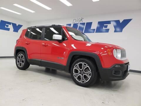 2015 Jeep Renegade for sale at HILEY MAZDA VOLKSWAGEN of ARLINGTON in Arlington TX