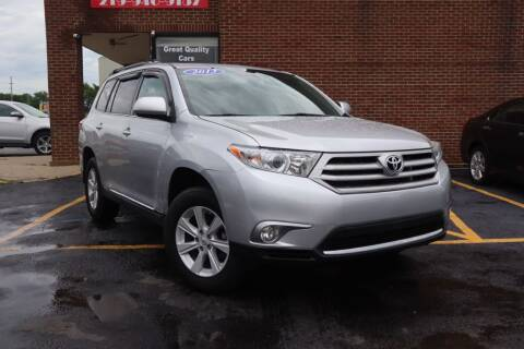 2013 Toyota Highlander for sale at Hobart Auto Sales in Hobart IN