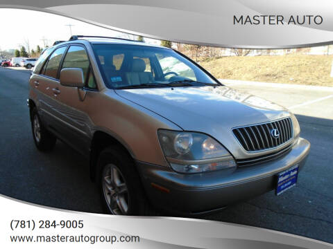 2000 Lexus RX 300 for sale at Master Auto in Revere MA