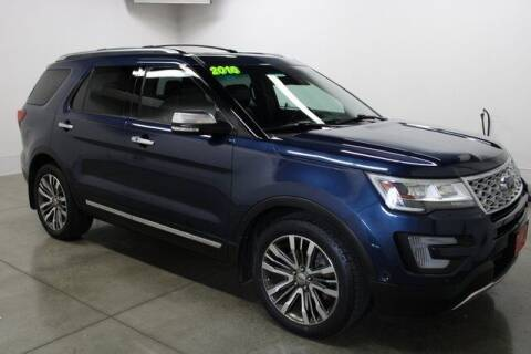 2016 Ford Explorer for sale at Bob Clapper Automotive, Inc in Janesville WI