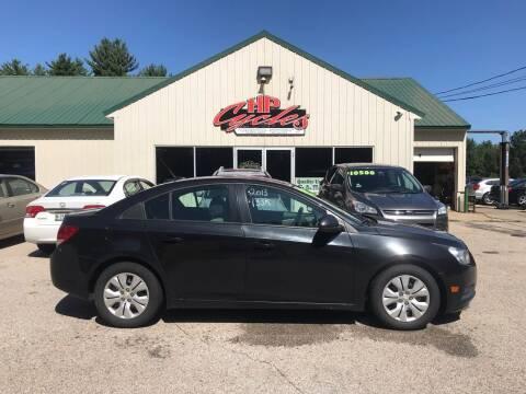 2013 Chevrolet Cruze for sale at HP AUTO SALES in Berwick ME
