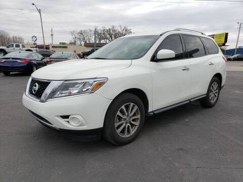 2016 Nissan Pathfinder for sale at Nonstop Motors in Indianapolis IN