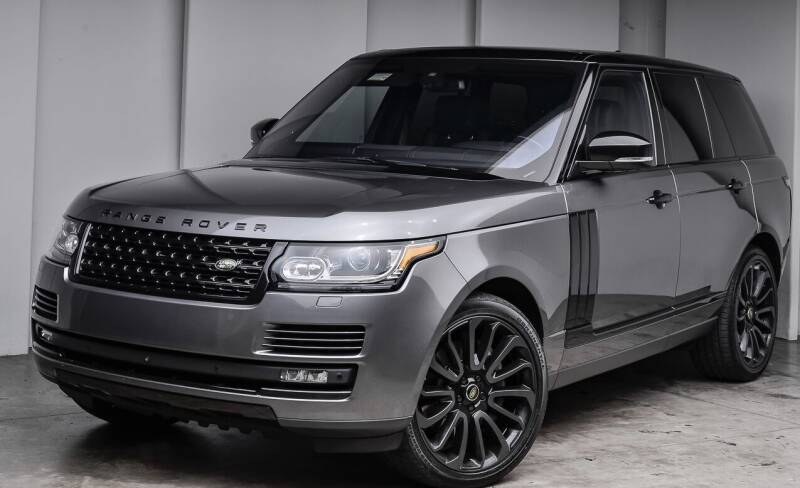 2016 Land Rover Range Rover for sale at Quality Automotive Group Inc in Billings MT