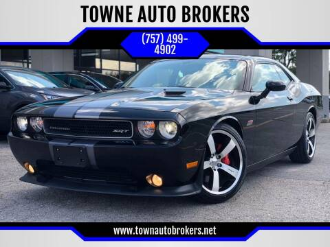 2012 Dodge Challenger for sale at TOWNE AUTO BROKERS in Virginia Beach VA