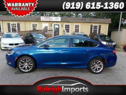 2015 Chrysler 200 for sale at Raleigh Imports in Raleigh NC