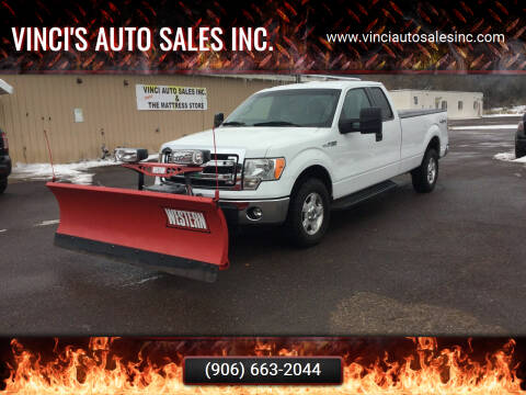 2013 Ford F-150 for sale at Vinci's Auto Sales Inc. in Bessemer MI