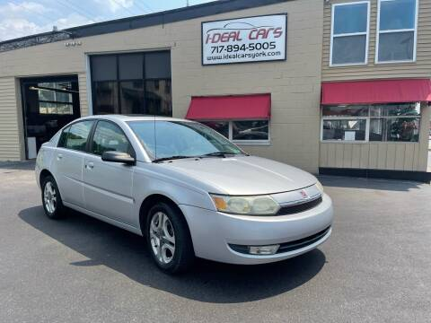 2004 Saturn Ion for sale at I-Deal Cars LLC in York PA