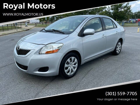 2009 Toyota Yaris for sale at Royal Motors in Hyattsville MD