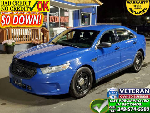 2013 Ford Taurus for sale at North Oakland Motors in Waterford MI