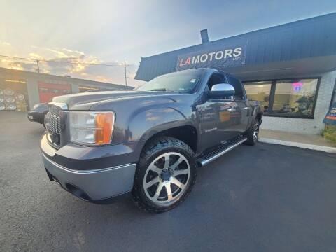 2011 GMC Sierra 1500 for sale at LA Motors LLC in Denver CO