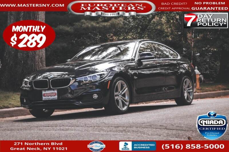 2018 BMW 4 Series for sale at European Masters in Great Neck NY