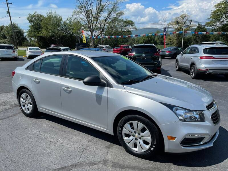 2016 Chevrolet Cruze Limited for sale at MAGNUM MOTORS in Reedsville PA