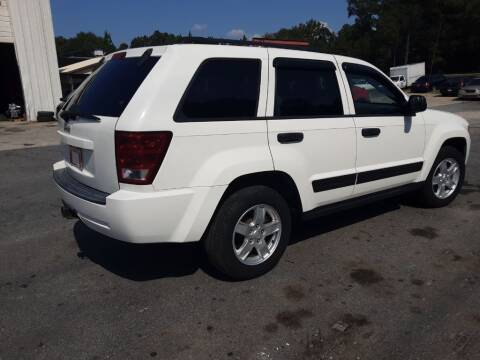 2006 Jeep Grand Cherokee for sale at Mathews Used Cars, Inc. in Crawford GA