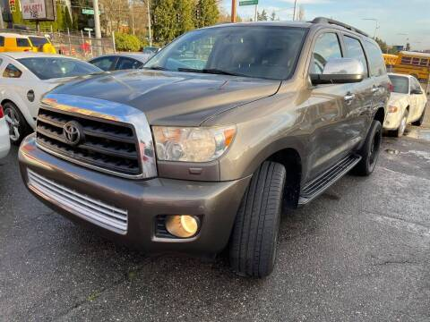 2008 Toyota Sequoia for sale at SNS AUTO SALES in Seattle WA